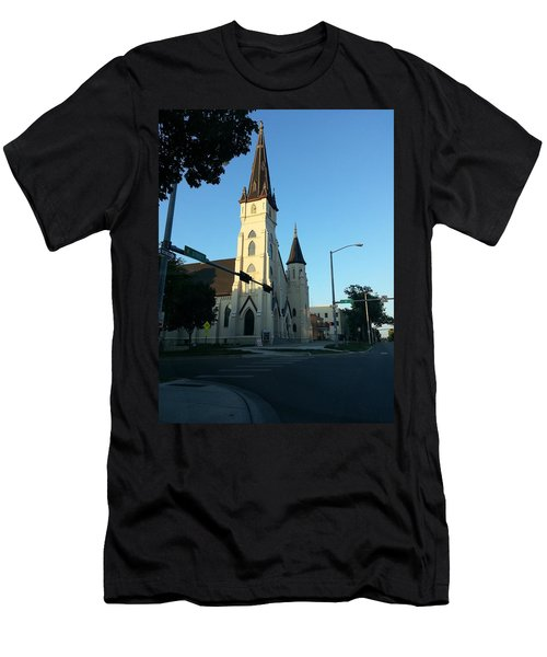 Downtown Worship Men's T-Shirt (Athletic Fit)
