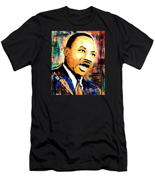 Dr. Martin Luther King Jr Men's T-Shirt (Slim Fit) by Everett Spruill