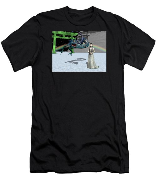 Dragon New Year Men's T-Shirt (Athletic Fit)