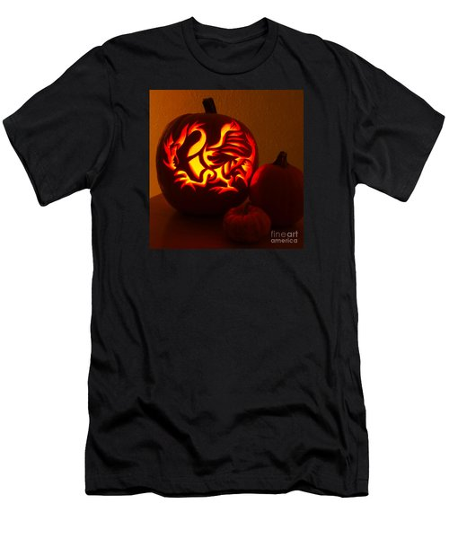 Dragon Light Of Fall Men's T-Shirt (Athletic Fit)