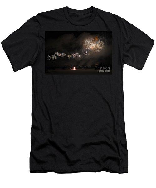 Dragon Of Light.. Men's T-Shirt (Athletic Fit)