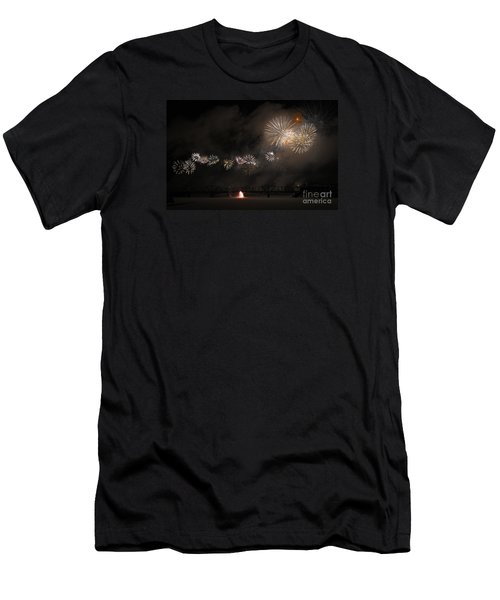 Dragon Of Light.. Men's T-Shirt (Athletic Fit)