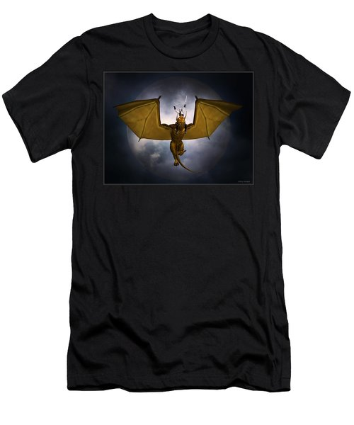 Dragon Rider Men's T-Shirt (Athletic Fit)
