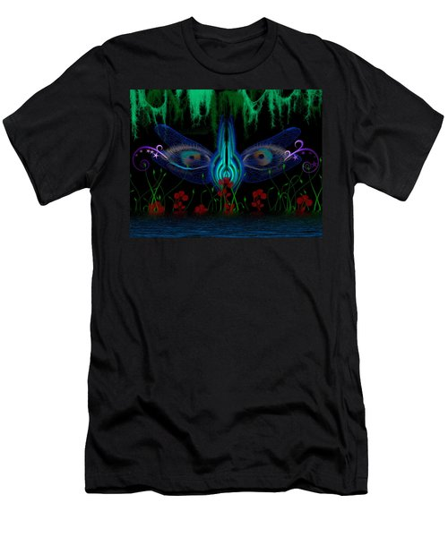 Dragonfly Eyes Series 6 Final Men's T-Shirt (Athletic Fit)