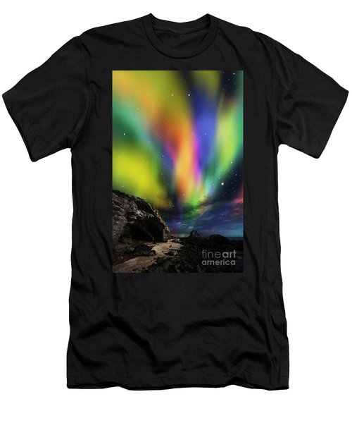 Dramatic Aurora Men's T-Shirt (Athletic Fit)