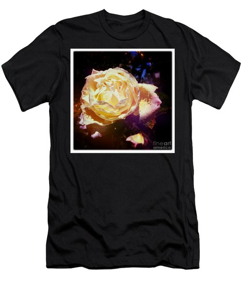 Dramatic Rose Men's T-Shirt (Athletic Fit)