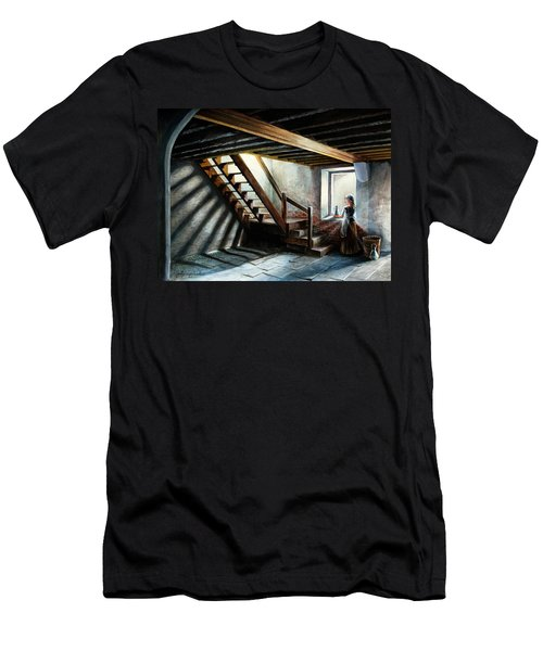 Drayton Hall- A Quiet Moment Men's T-Shirt (Athletic Fit)