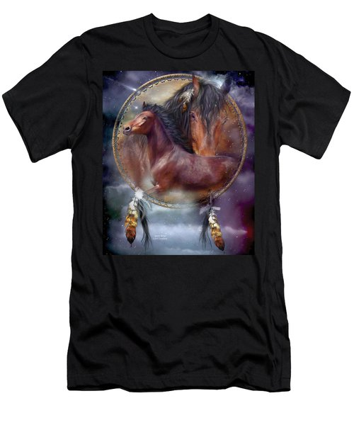 Dream Catcher - Spirit Horse Men's T-Shirt (Athletic Fit)