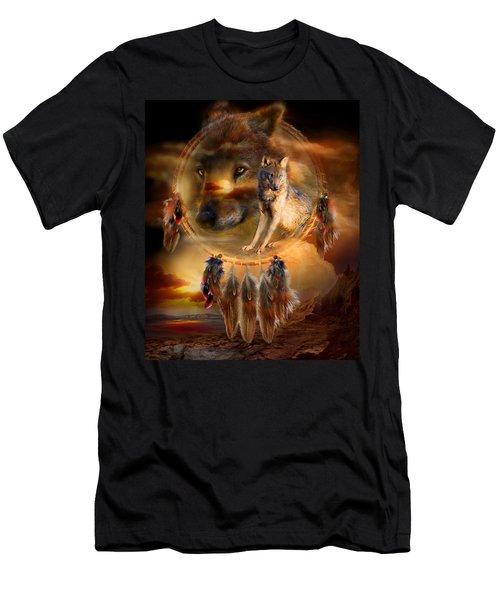 Dream Catcher - Wolfland Men's T-Shirt (Athletic Fit)