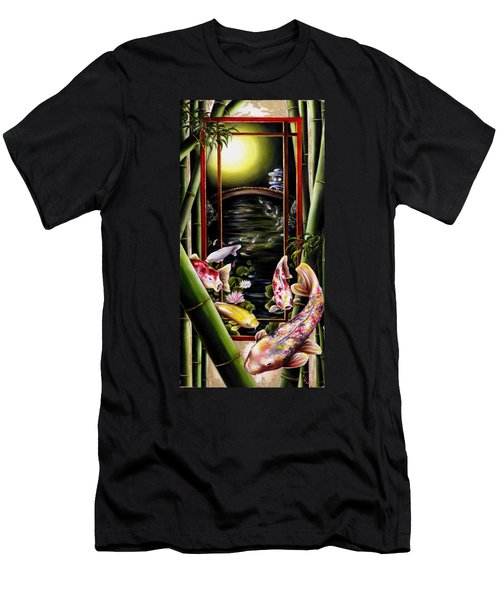 Dream Men's T-Shirt (Slim Fit) by Hiroko Sakai