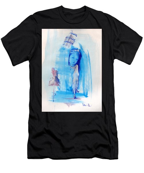 Men's T-Shirt (Athletic Fit) featuring the painting Dreaming Of Pisa by Laurie Lundquist