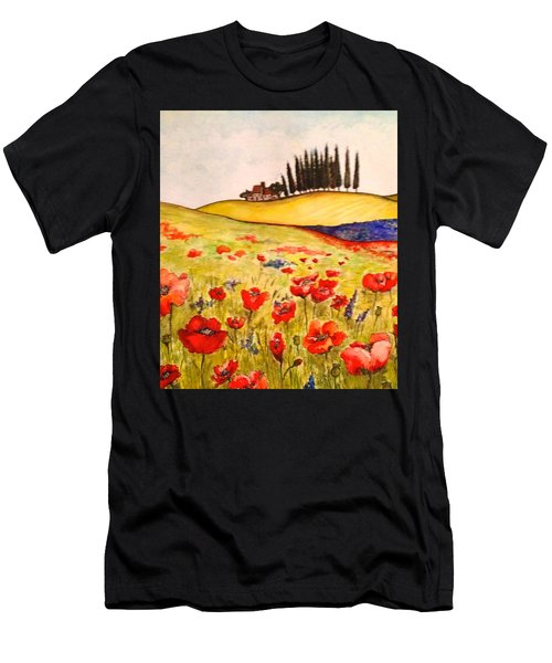 Dreaming Of Tuscany Men's T-Shirt (Athletic Fit)