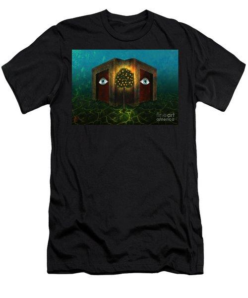 Dreams Do Not Sleep Men's T-Shirt (Athletic Fit)