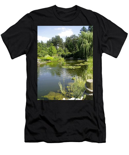 Dreamy Pond Men's T-Shirt (Athletic Fit)