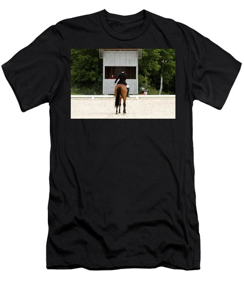 Dressage Salute Men's T-Shirt (Athletic Fit)