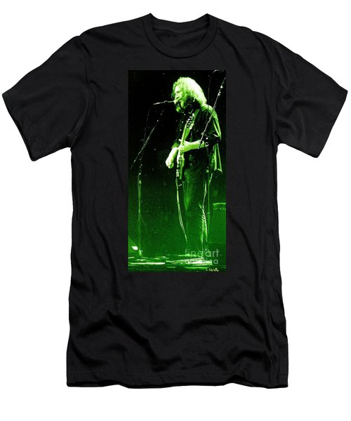 Men's T-Shirt (Slim Fit) featuring the photograph Dressed Myself In Green  by Susan Carella