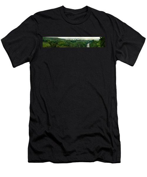 Drive The Flint Hills Men's T-Shirt (Athletic Fit)