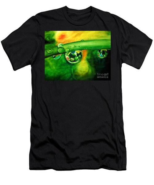 Droplets Men's T-Shirt (Athletic Fit)
