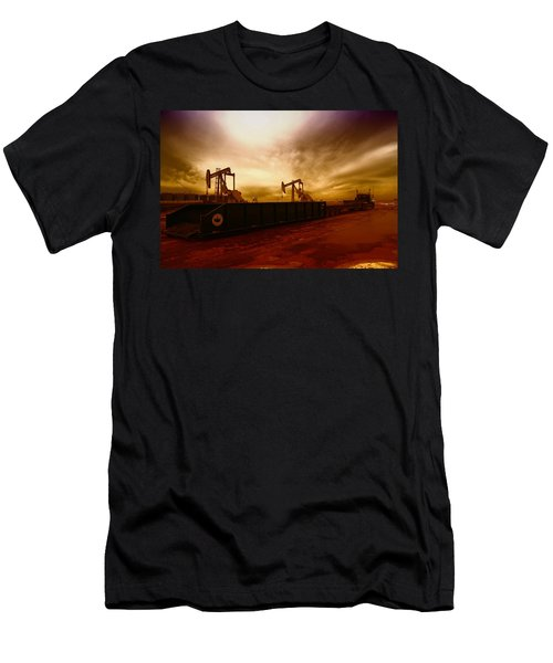 Dropping A Tank Men's T-Shirt (Athletic Fit)