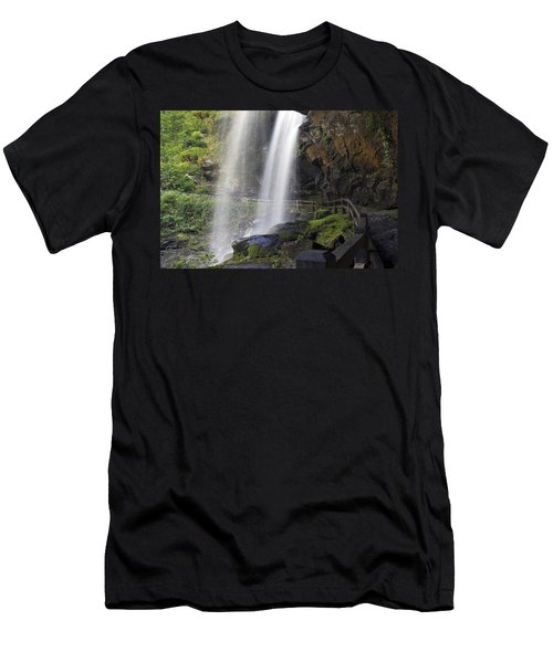 Dry Falls North Carolina Men's T-Shirt (Athletic Fit)
