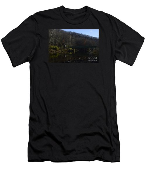 Dry Fork At Jenningston Men's T-Shirt (Slim Fit) by Randy Bodkins