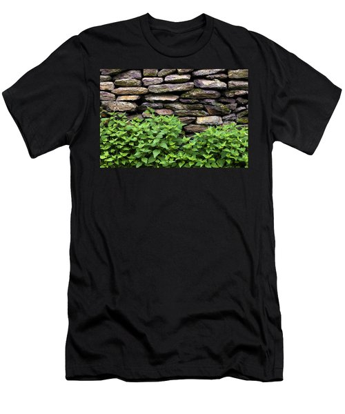 Dry Stone Wall  Men's T-Shirt (Athletic Fit)