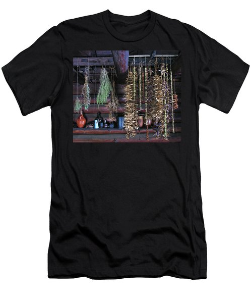 Drying Herbs And Vegetables In Williamsburg Men's T-Shirt (Athletic Fit)