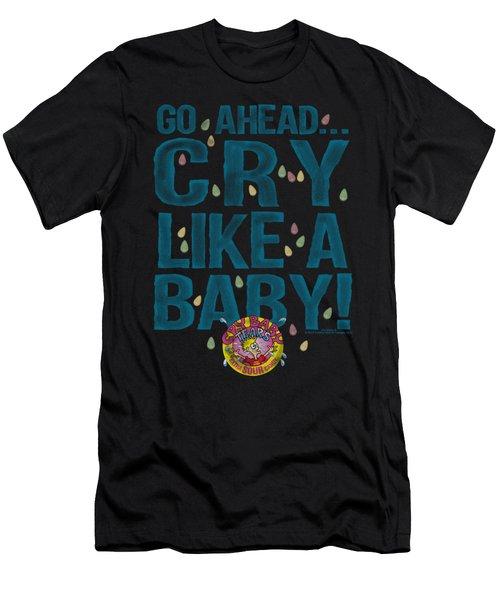Dubble Bubble - Cry Like A Baby Men's T-Shirt (Athletic Fit)