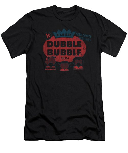 Dubble Bubble - One Cent Men's T-Shirt (Athletic Fit)