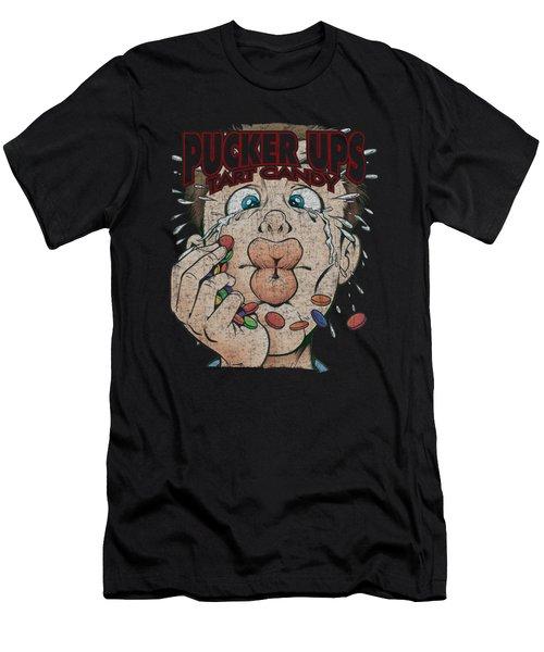 Dubble Bubble - Pucker Ups Men's T-Shirt (Athletic Fit)