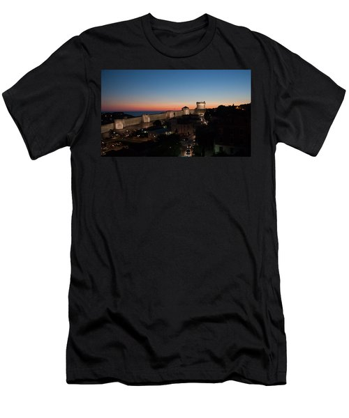 Men's T-Shirt (Slim Fit) featuring the photograph Dubrovnik by Silvia Bruno