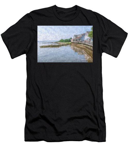Duck Shops Outer Banks Men's T-Shirt (Athletic Fit)
