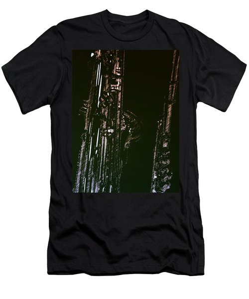 Men's T-Shirt (Slim Fit) featuring the photograph Duet by Photographic Arts And Design Studio