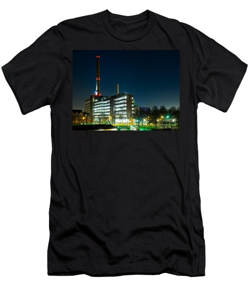 Duisburg Thyssen Krupp Factory Apostel Street Men's T-Shirt (Athletic Fit)