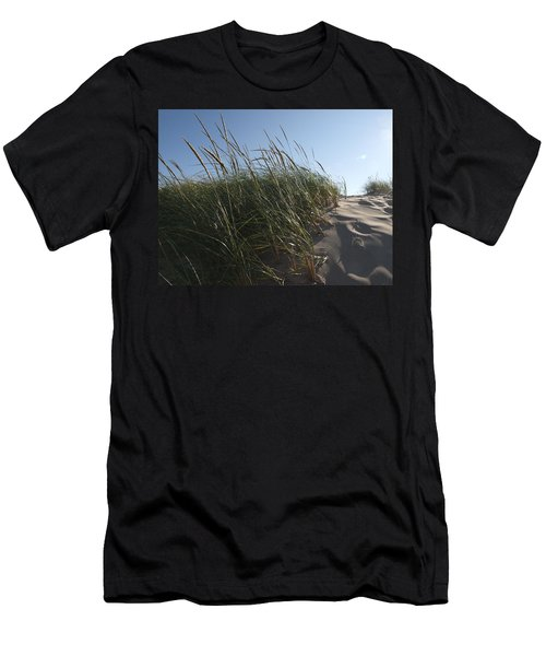 Dune Grass Men's T-Shirt (Slim Fit) by Tara Lynn