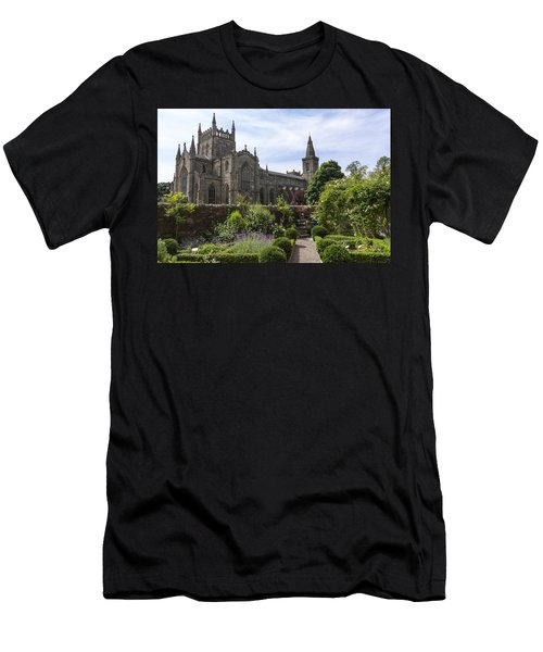 Dunfermline Abbey From The Abbot House Men's T-Shirt (Athletic Fit)