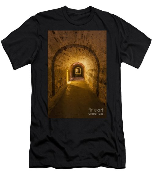 Dungeon At Castillo San Cristobal In Old San Juan Puerto Rico Men's T-Shirt (Athletic Fit)