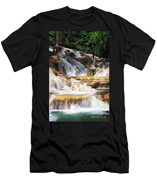 Dunn Falls _ Men's T-Shirt (Athletic Fit)