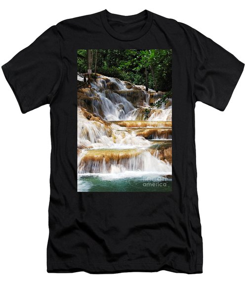 Dunn Falls Men's T-Shirt (Athletic Fit)