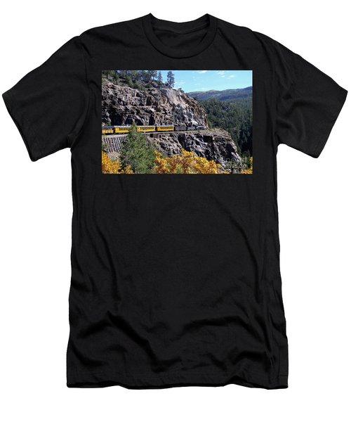 Durango To Silverton Rail Men's T-Shirt (Athletic Fit)