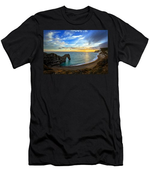Durdle Door Sunset Men's T-Shirt (Athletic Fit)