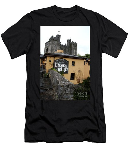 Durty Nellys And Bunraty Castle Men's T-Shirt (Slim Fit) by Christiane Schulze Art And Photography
