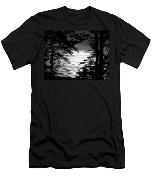 Dusk On The Ocean Men's T-Shirt (Slim Fit) by Katie Wing Vigil
