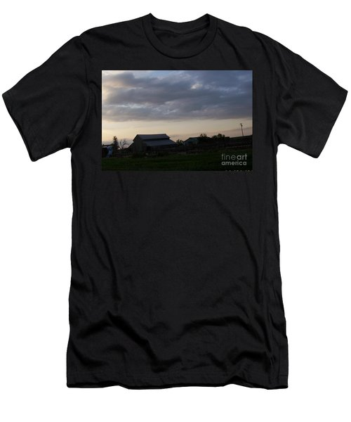 Men's T-Shirt (Slim Fit) featuring the photograph Dusk Til Dawn by Bobbee Rickard