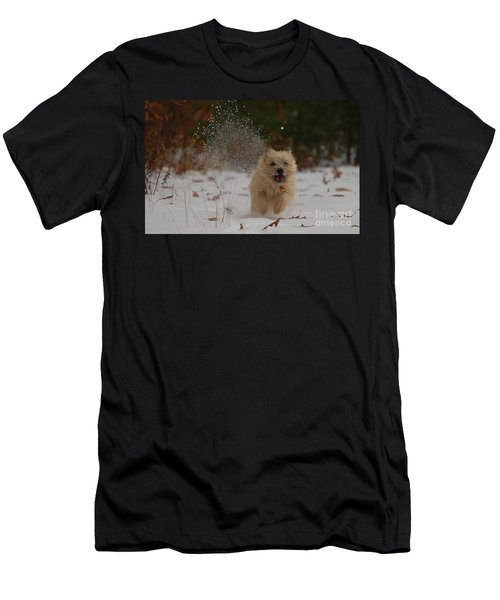 Dusted Men's T-Shirt (Slim Fit) by Molly Poole