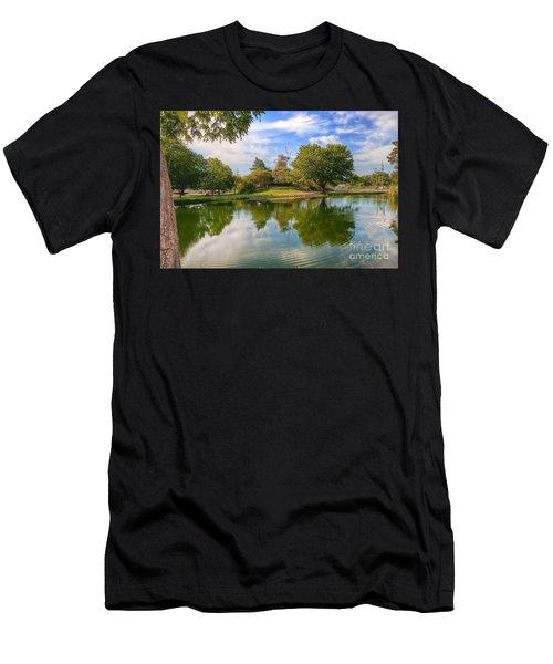 Dutch Mill  Men's T-Shirt (Athletic Fit)