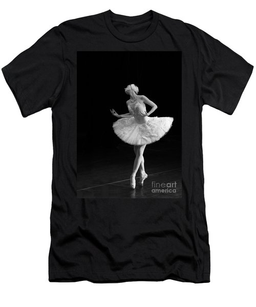 Dying Swan 3. Men's T-Shirt (Athletic Fit)