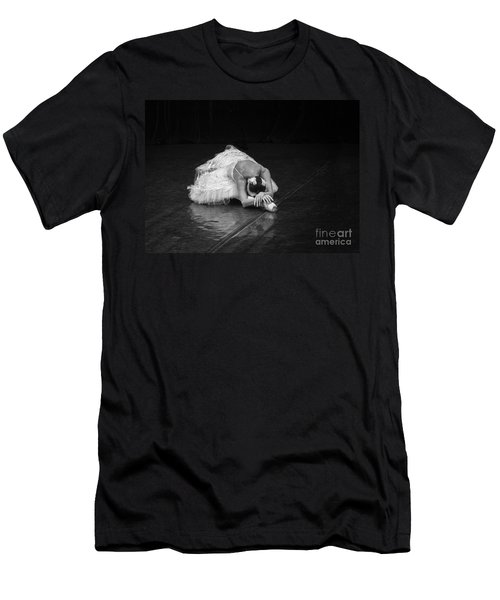 Dying Swan 4. Men's T-Shirt (Athletic Fit)