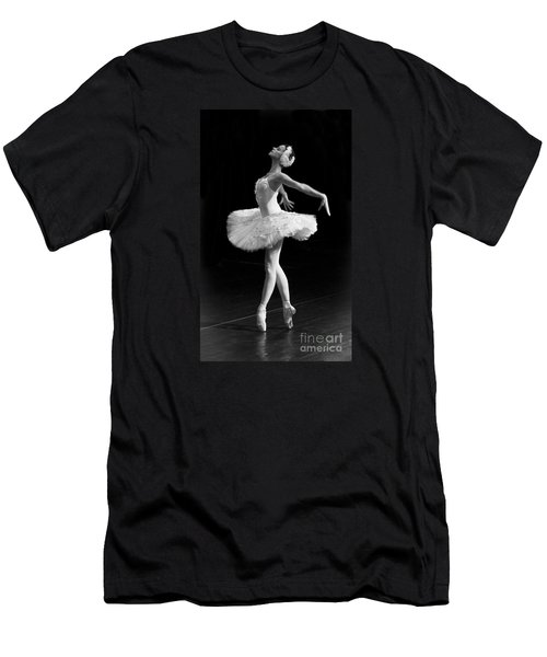 Dying Swan I. Men's T-Shirt (Slim Fit) by Clare Bambers