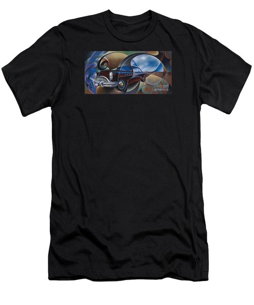 Dynamic Route 66 Men's T-Shirt (Athletic Fit)